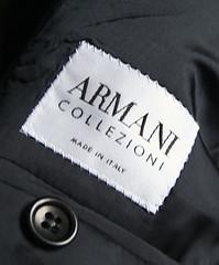 giorgio armani suits, armani logo