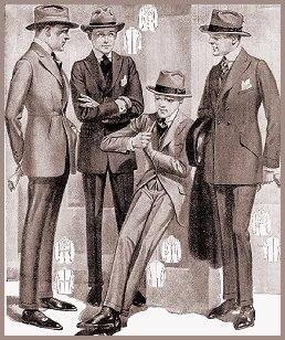 1920's fashion for men