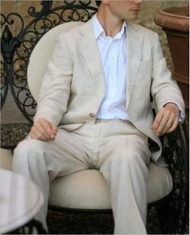 Linen shirts for men & mens linen suits