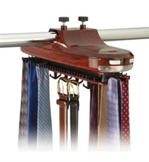 Rotating Necktie Rack & Necktie Storage